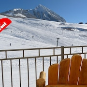 Ski-in/ski-out, Ideal Location. Sleeps 2-8. Fully Equipped, Perfect for Families