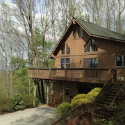 Top of the Line Asheville Cabin