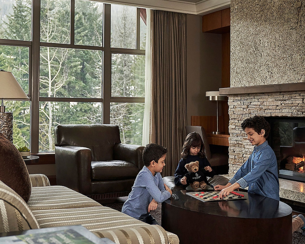 Living Room, Four Seasons Resort Whistler