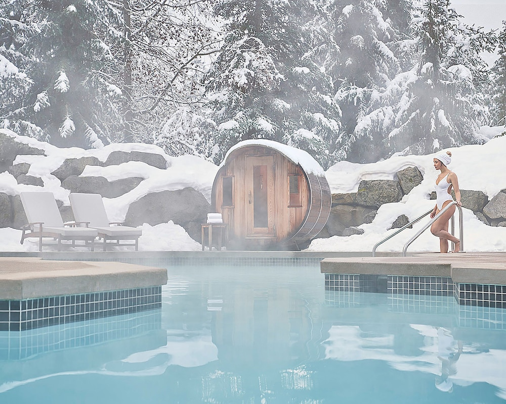 Outdoor Pool, Four Seasons Resort Whistler