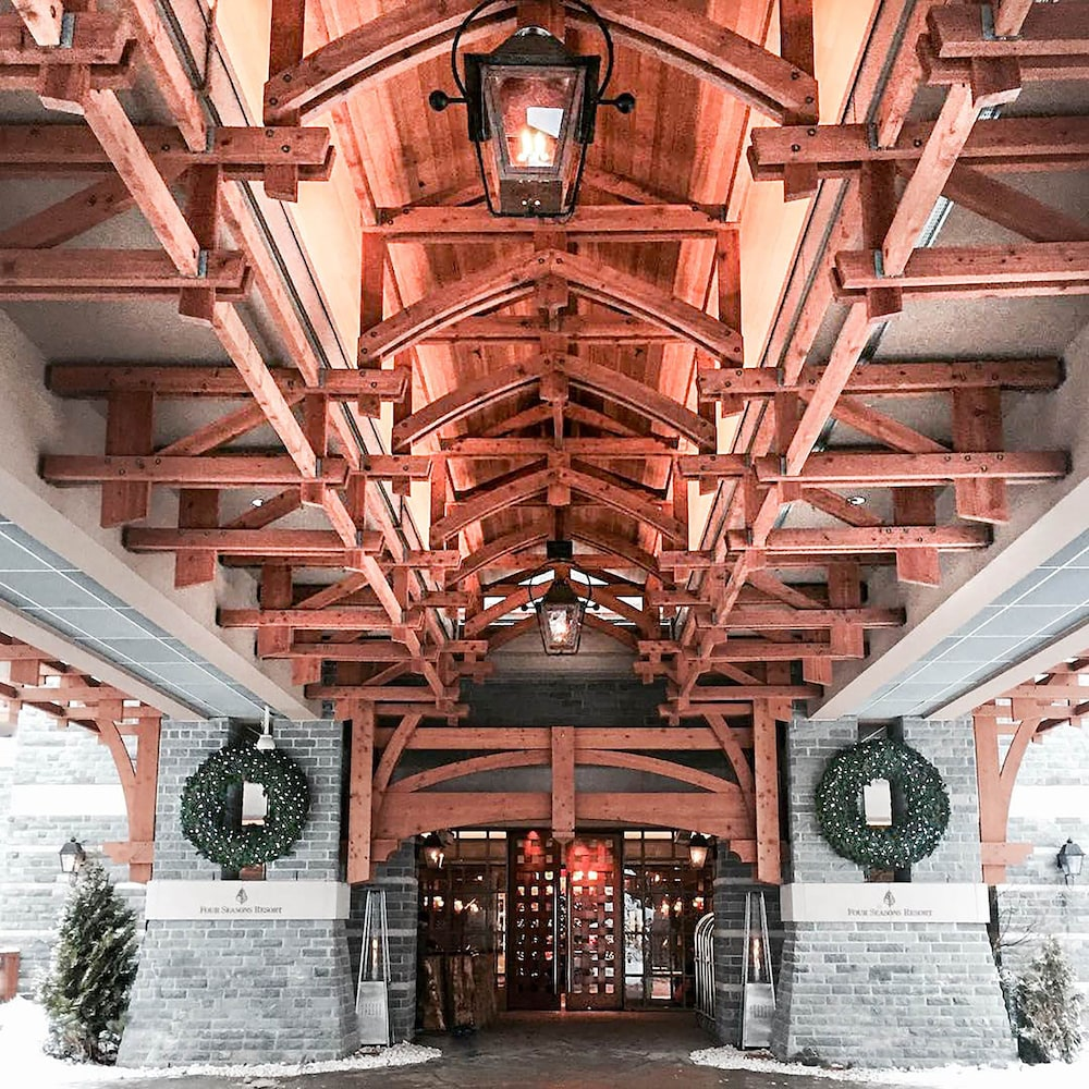 Property Entrance, Four Seasons Resort Whistler