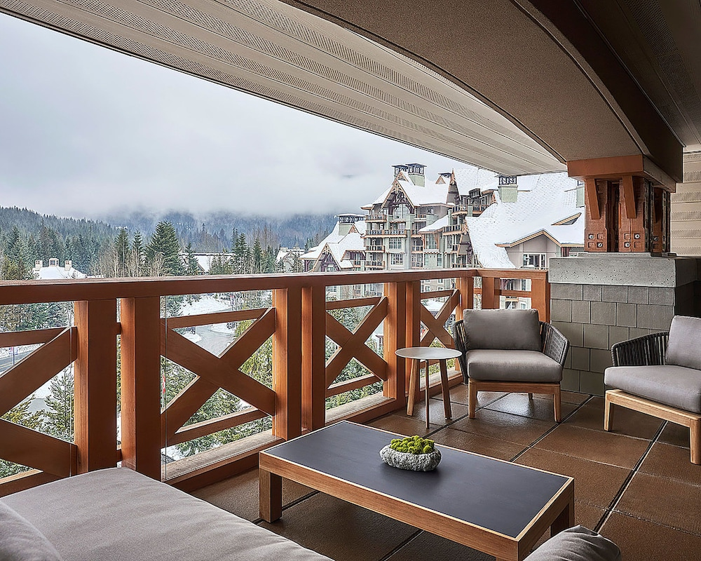 Balcony View, Four Seasons Resort Whistler