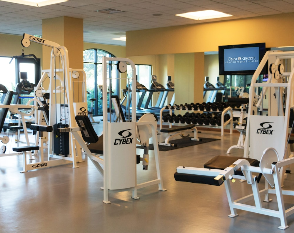 Fitness Facility, Omni Orlando Resort at ChampionsGate