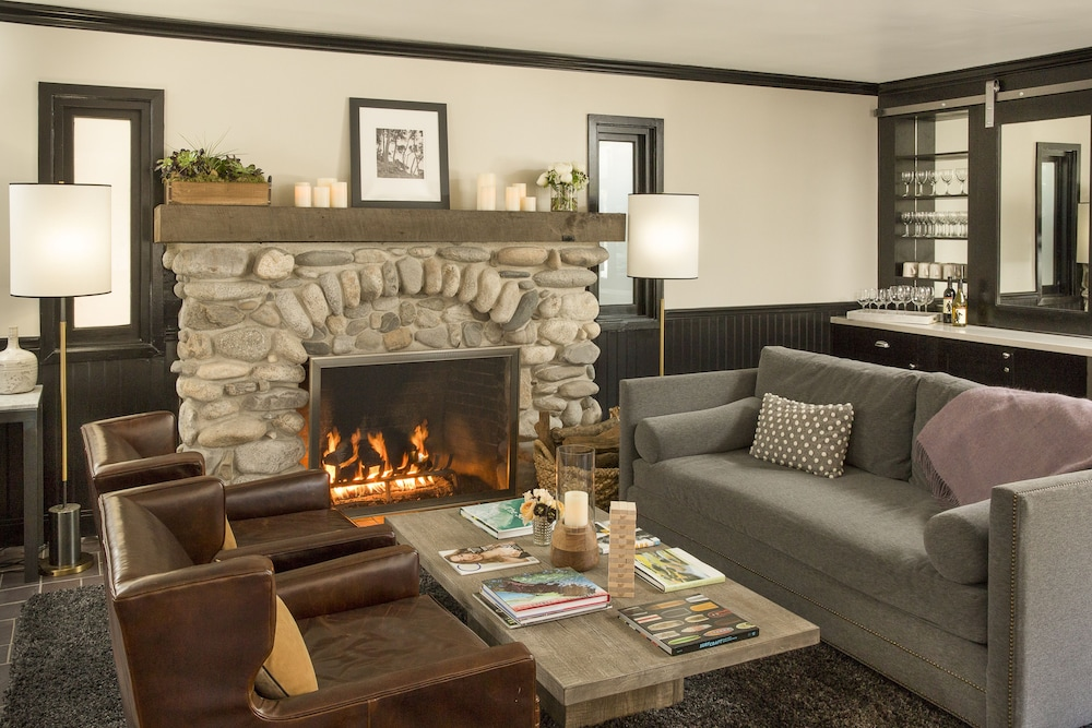 Fireplace, The Hideaway