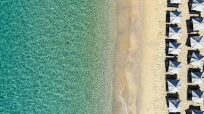 Beach towels, beach massages