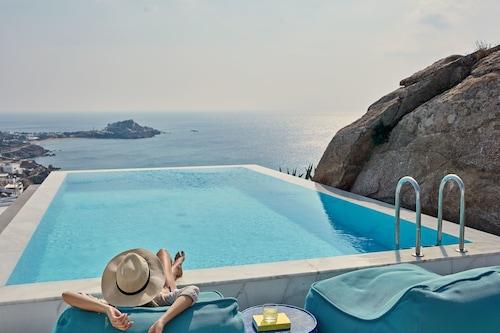 Mykonos Beach Hotels: Best Oceanfront Hotels in Mykonos | Travelocity