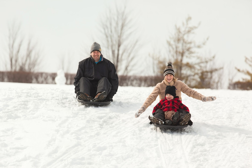 Sledding, Timber Ridge Lodge and Waterpark