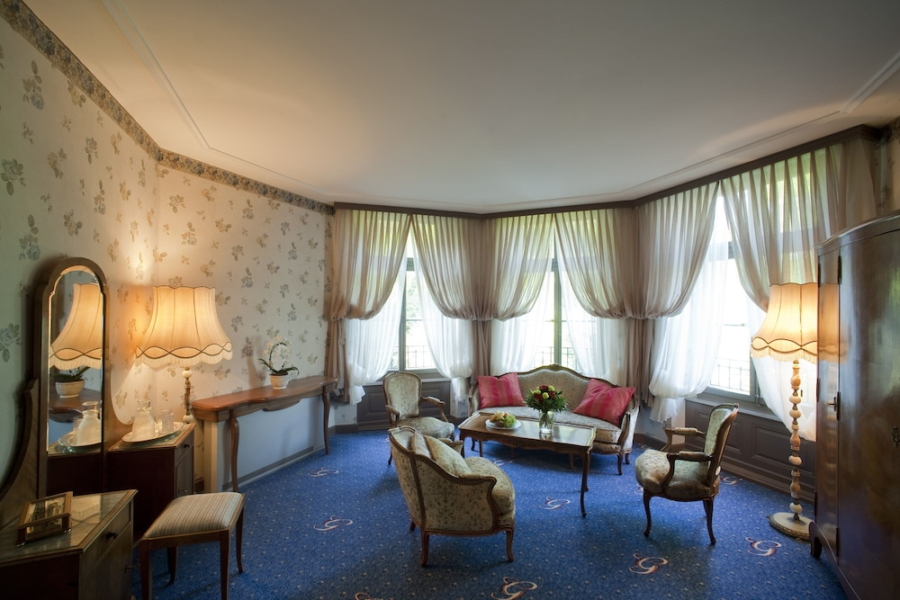 Living Area, Grandhotel Giessbach
