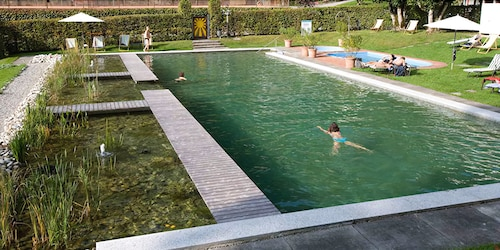 Natural Pool, Grandhotel Giessbach