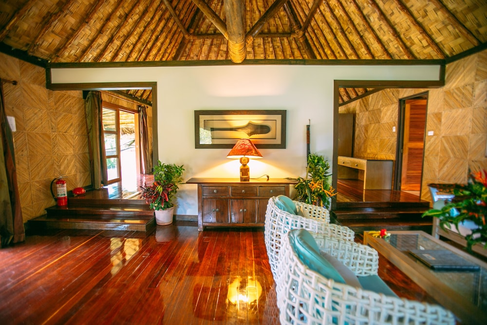 Living Area, Qamea Resort and Spa Fiji