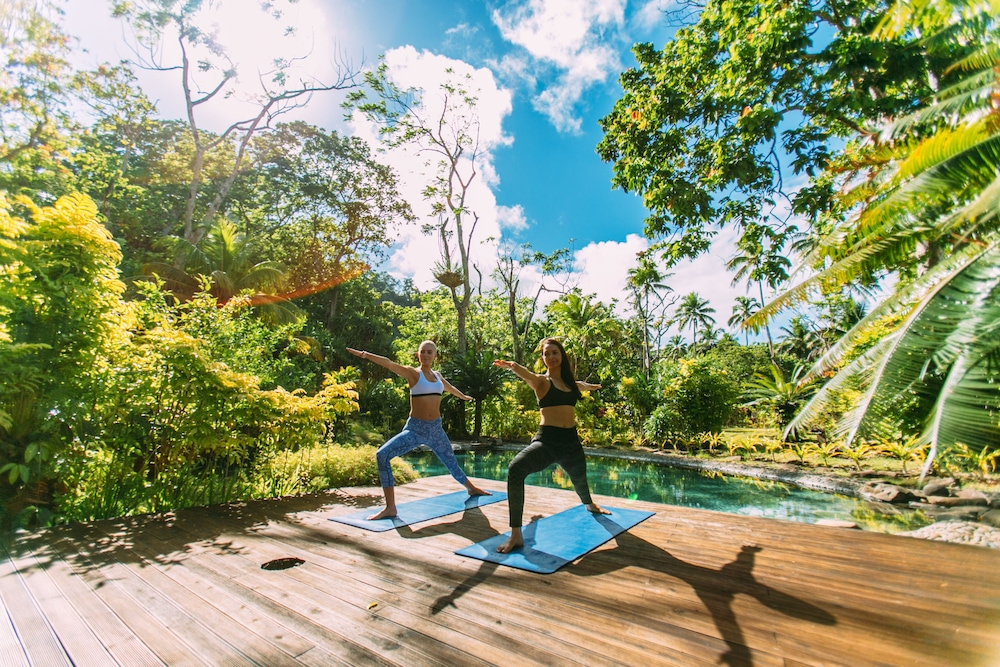 Yoga, Qamea Resort and Spa Fiji
