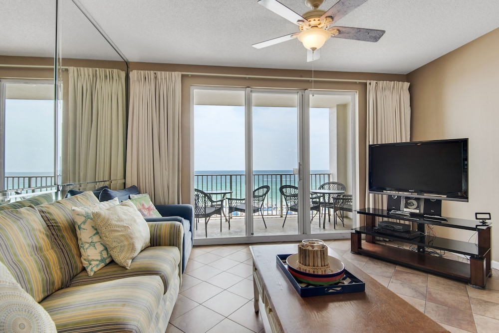 Living Area, Majestic Sun Condominiums
