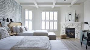 Egyptian cotton sheets, premium bedding, down comforters, minibar