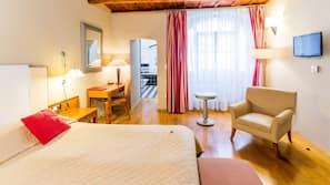 Allergivenligt sengetøj, gratis minibar, pengeskab på værelset