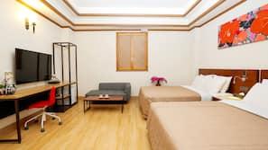 1 ห้องนอน, เตียงเมมโมรีโฟม, ตู้นิรภัยในห้องพัก