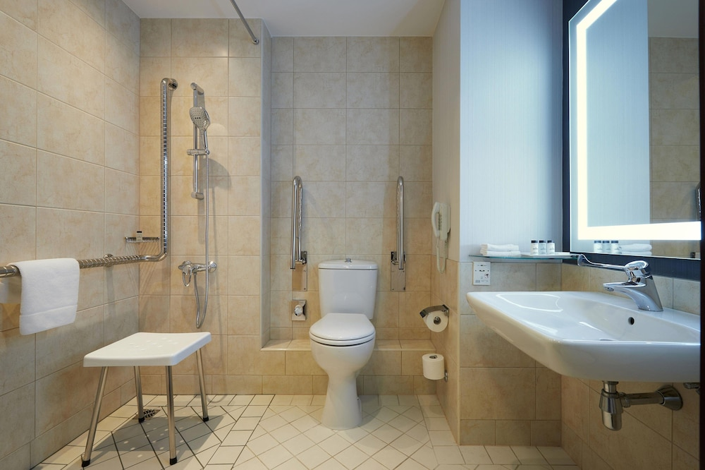 Bathroom, Sheraton Grand Krakow