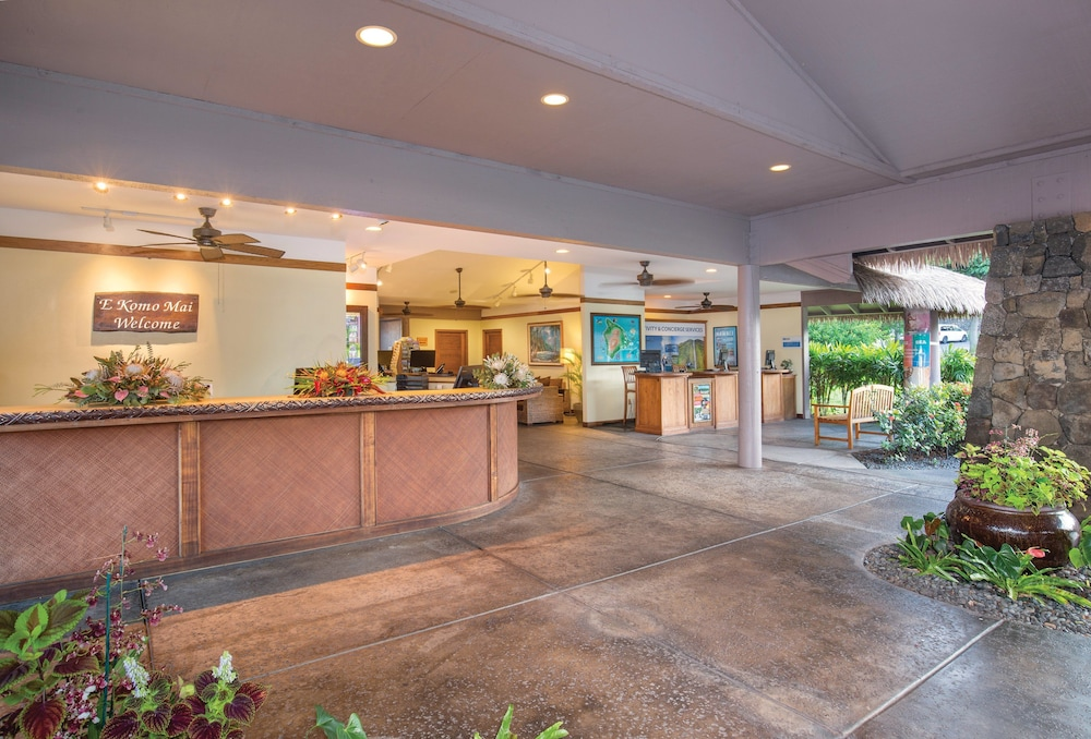 Lobby, Wyndham Kona Hawaiian Resort