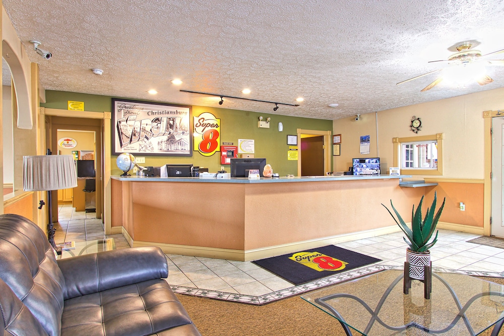Reception, Super 8 by Wyndham Christiansburg