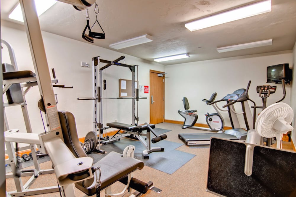 Fitness Facility, Oro Grande Lodge by Vacasa