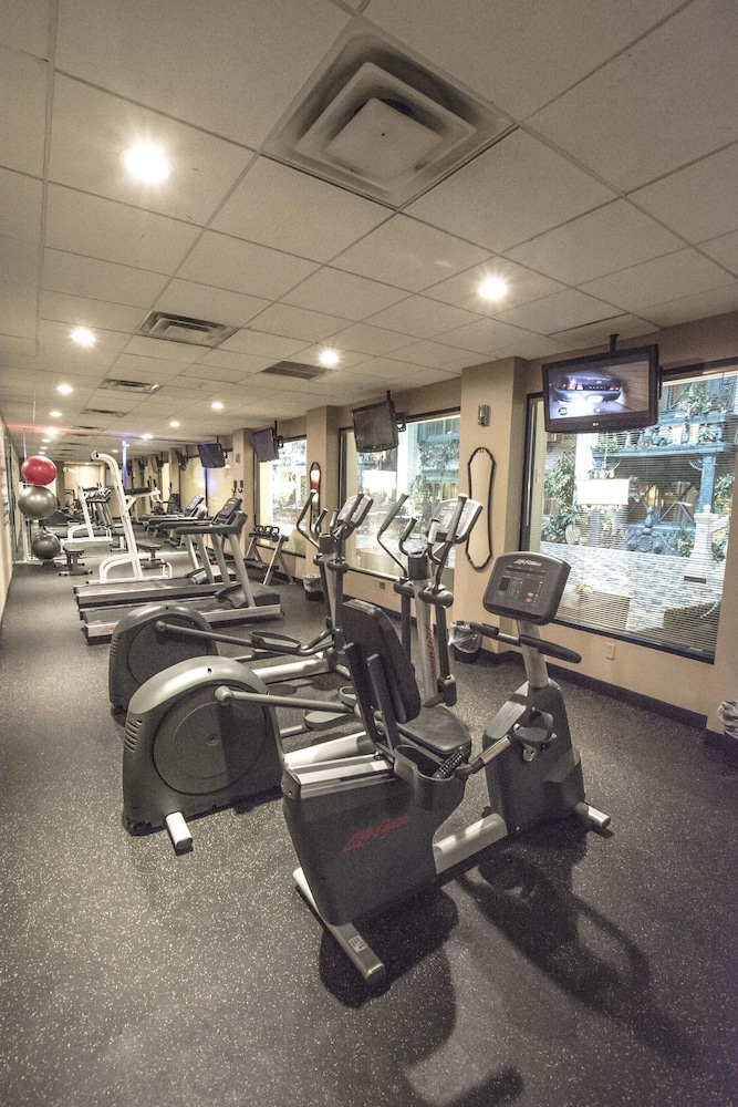Fitness Facility, Garden Place Hotel