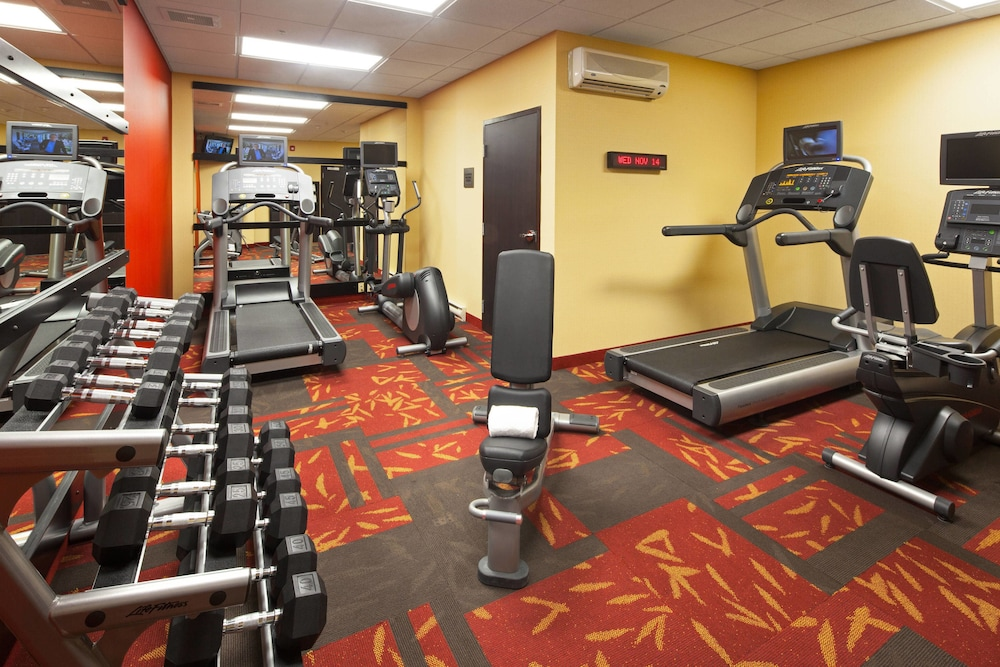 Fitness Facility, Courtyard by Marriott London