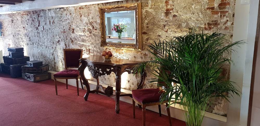Recepción rembrandtplein hotel