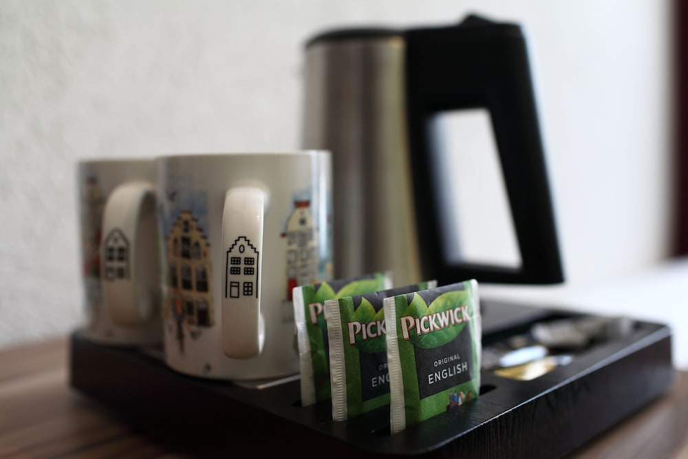 Café en la habitación hotel asterisk