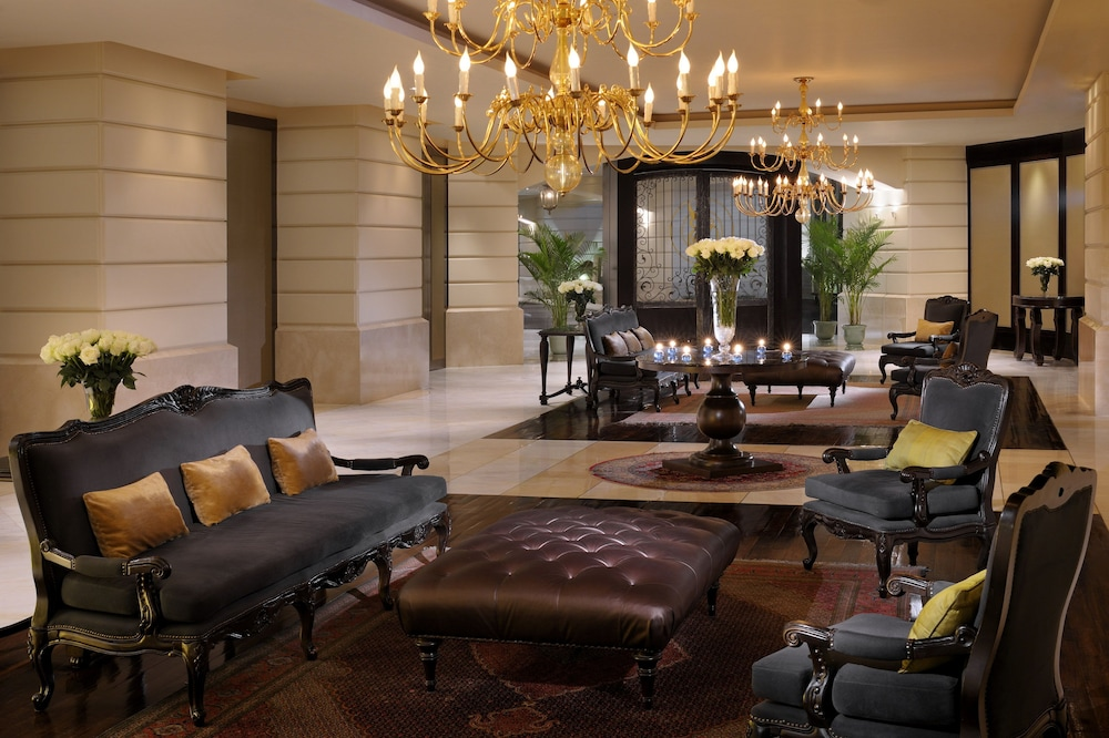 Lobby Sitting Area, lebua at State Tower (The World's First Vertical Destination)