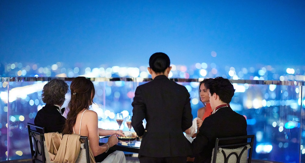 Outdoor Dining, lebua at State Tower (The World's First Vertical Destination)
