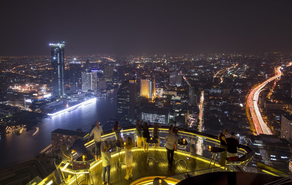 View from Property, lebua at State Tower (The World's First Vertical Destination)