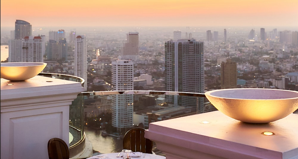 Rooftop terrace, lebua at State Tower (The World's First Vertical Destination)