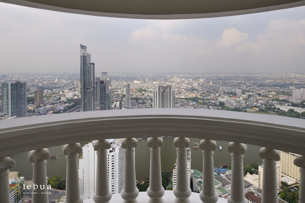 View from Room, lebua at State Tower (The World's First Vertical Destination)