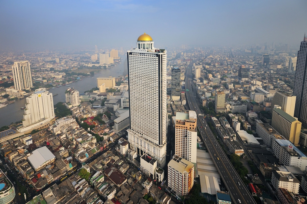 Exterior, lebua at State Tower (The World's First Vertical Destination)