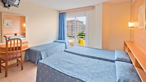 1 dormitorio y cunas o camas infantiles gratuitas