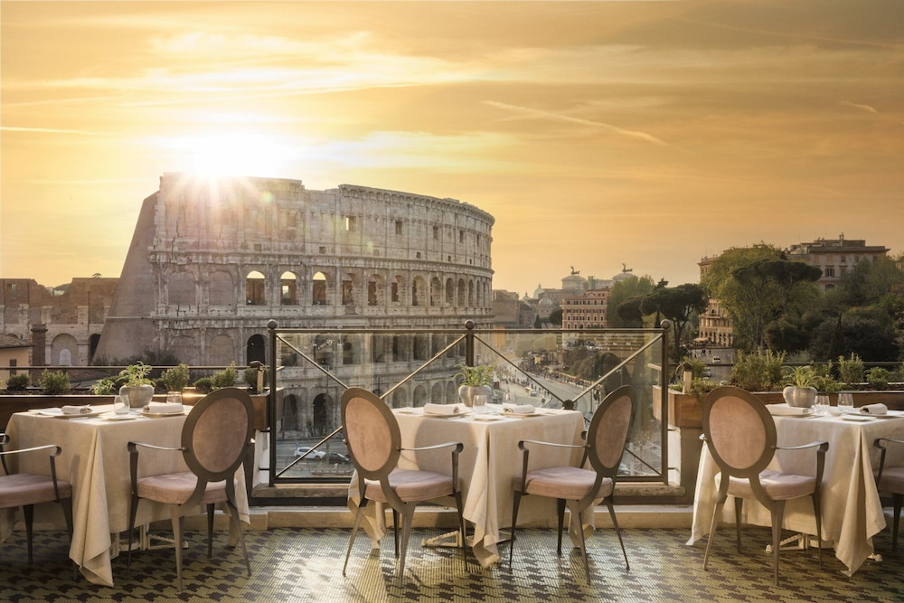Rooftop terrace, Palazzo Manfredi - Small Luxury Hotels of the World