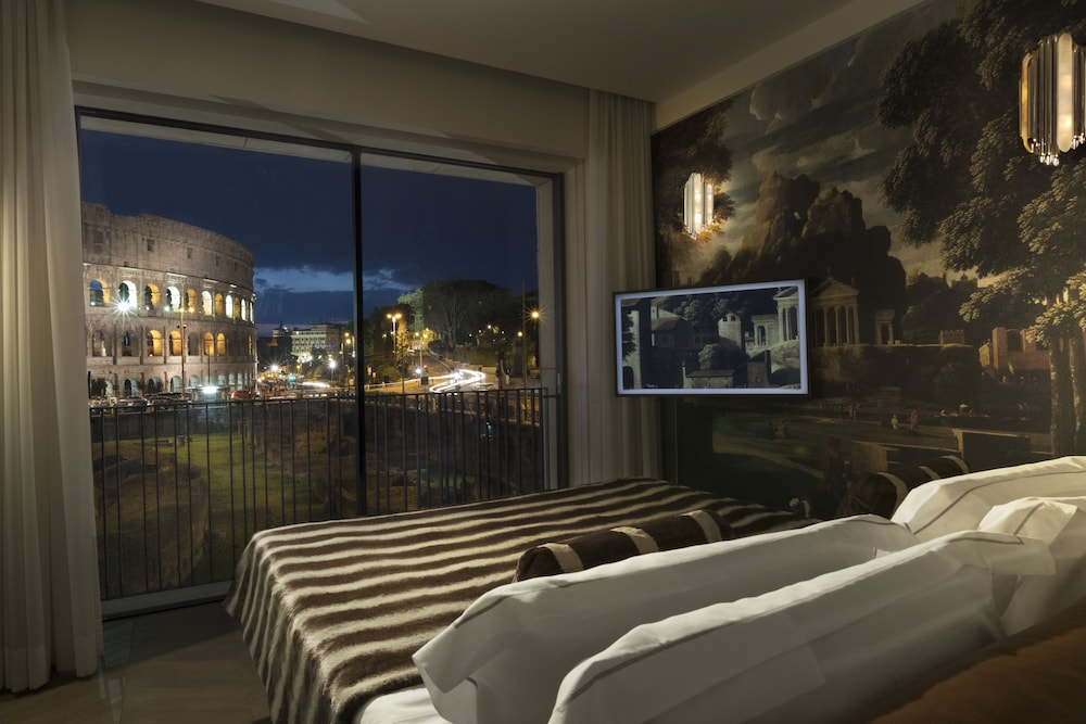 View from Room, Palazzo Manfredi - Small Luxury Hotels of the World