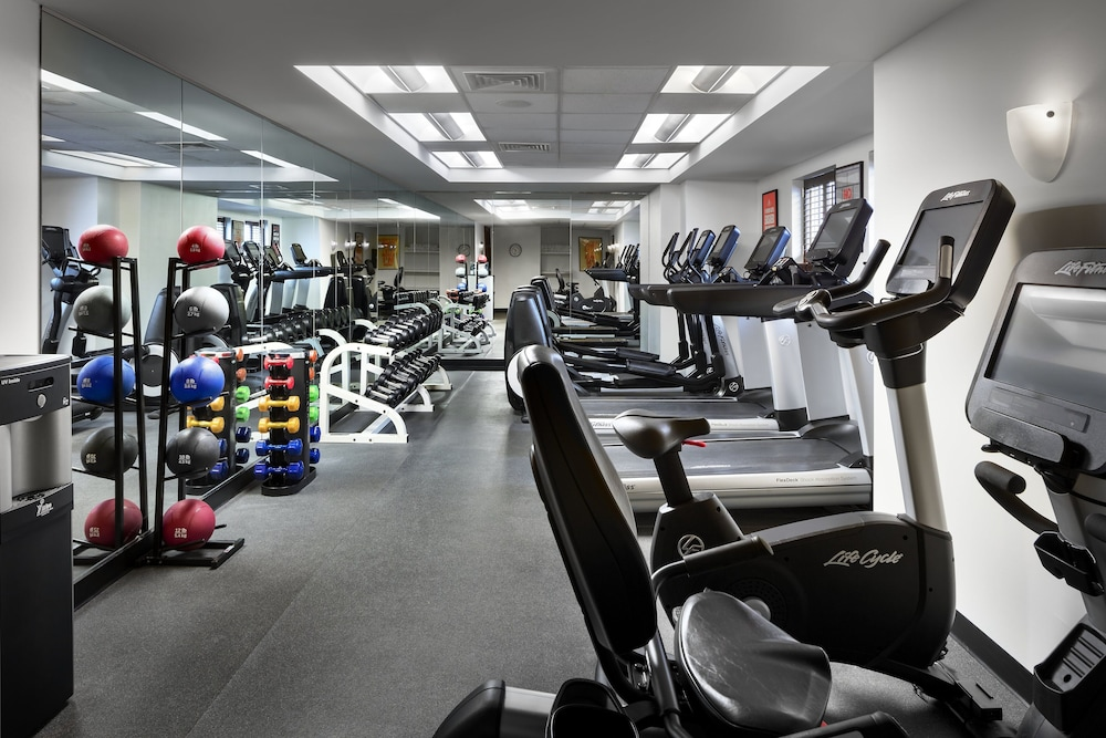 Fitness Facility, Loews Boston Hotel