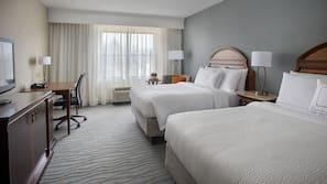 9 bedrooms, premium bedding, in-room safe, desk