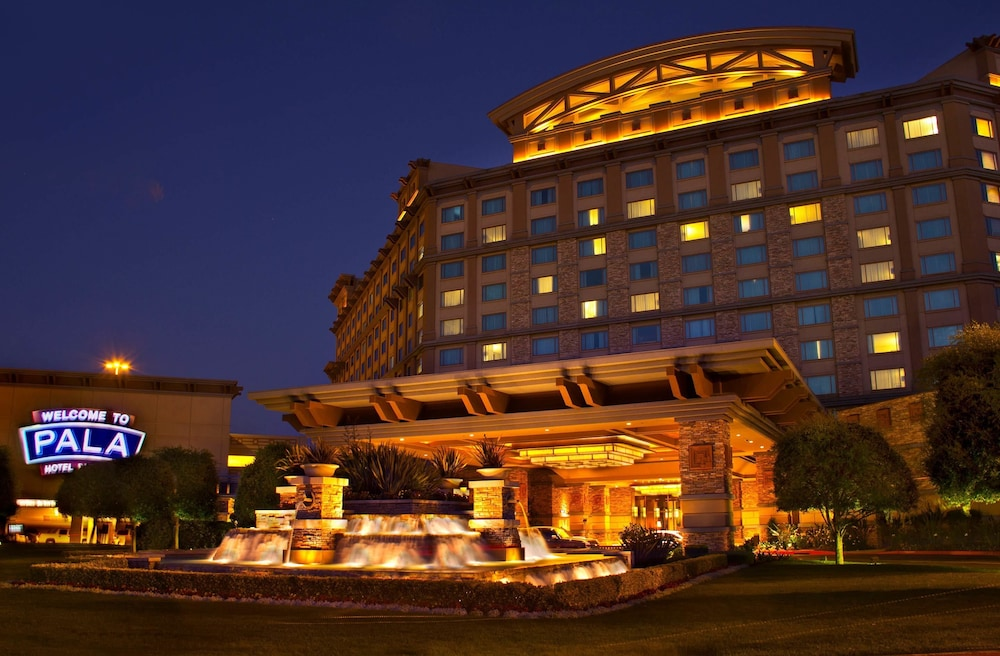 Front of Property - Evening/Night, Pala Casino Spa And Resort