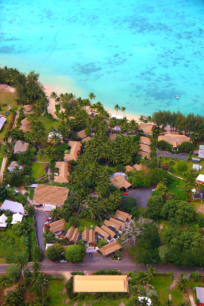 Aerial View, Pacific Resort Rarotonga