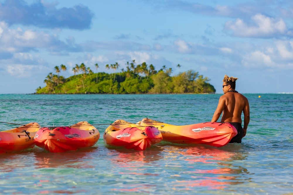 Kayaking, Pacific Resort Rarotonga