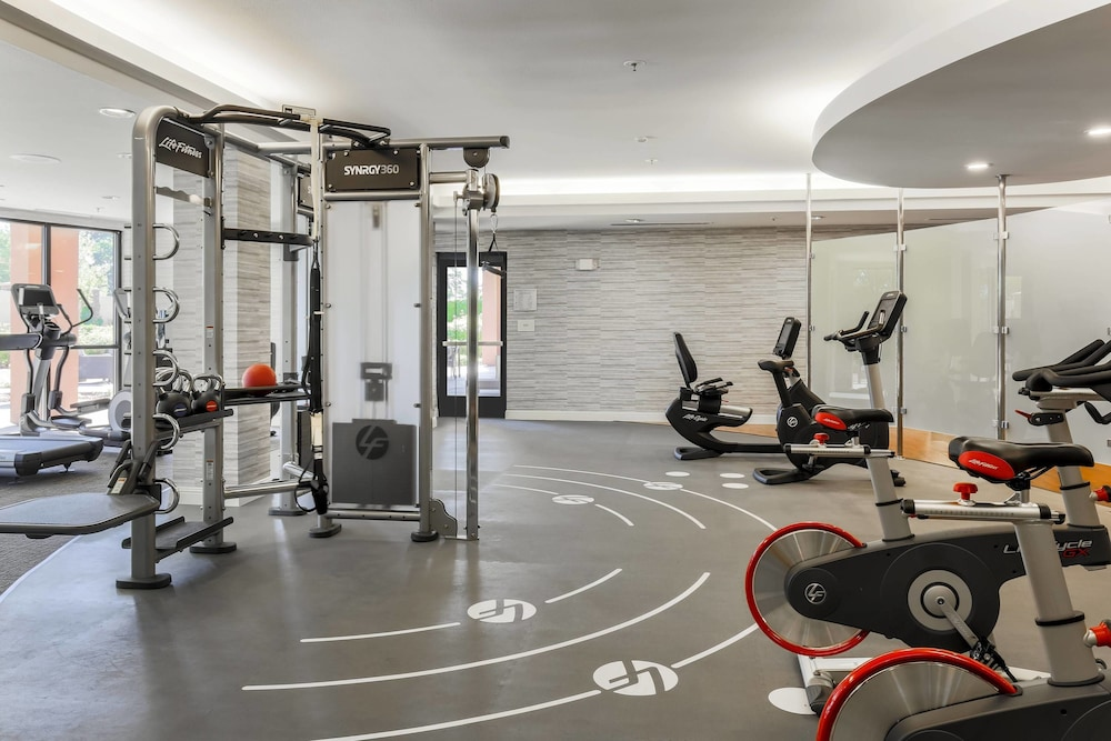 Fitness Facility, Courtyard by Marriott Roseville Creekside