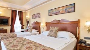 Hochwertige Bettwaren, Daunenbettdecken, Tempur-Pedic-Betten, Minibar
