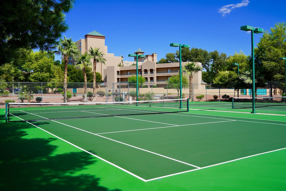 Tennis Court, CasaBlanca Resort-Casino-Golf-Spa