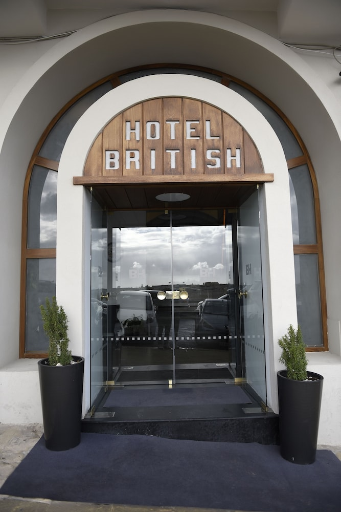 Property Entrance, The British Hotel