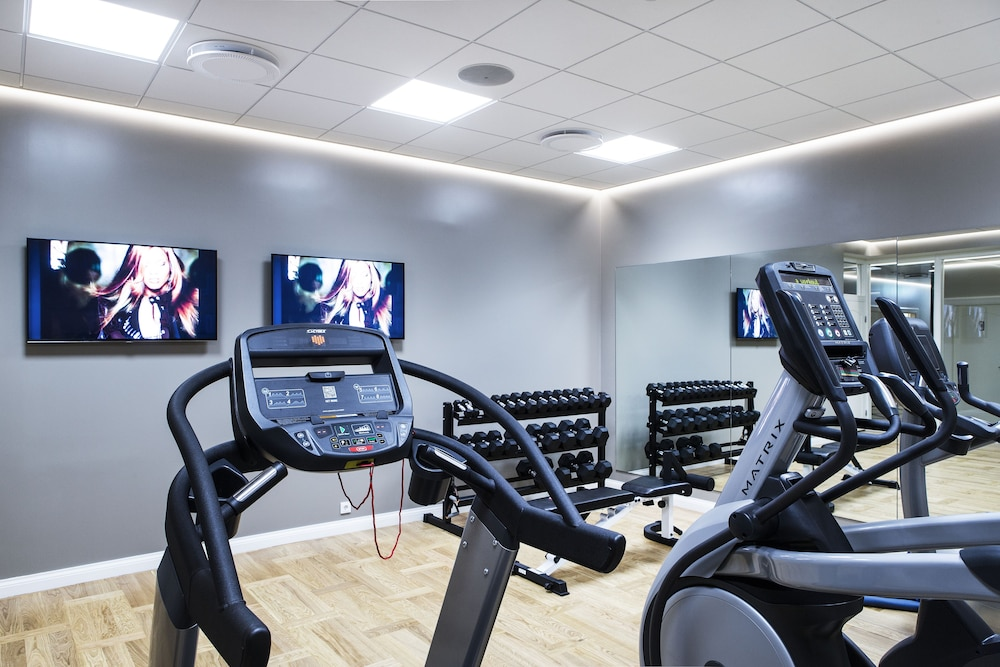 Gym, Hotel Borg by Keahotels