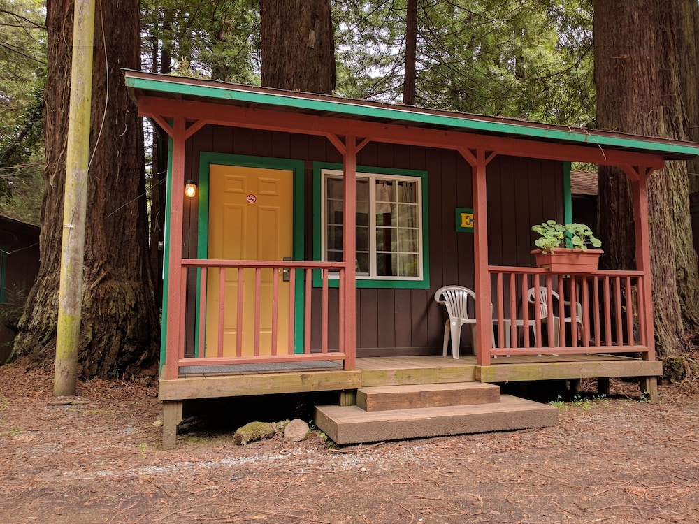 Porch, Emerald Forest Cabins
