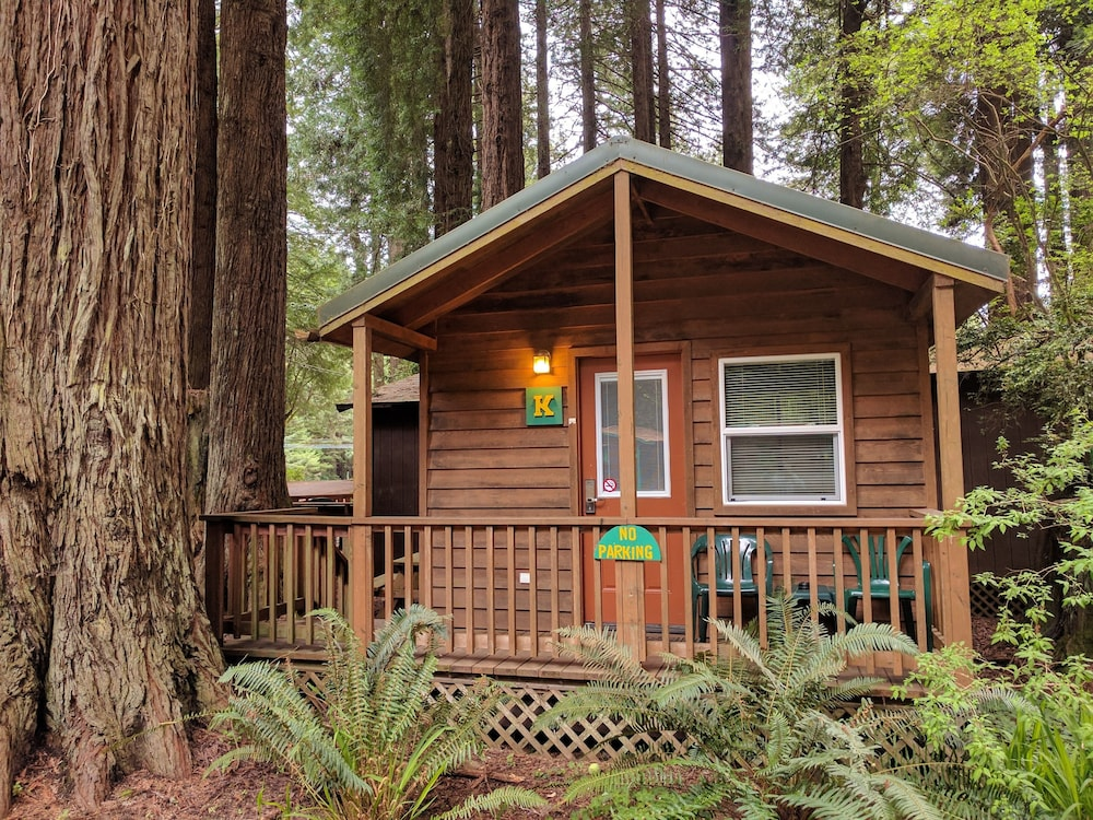 Emerald forest cabins in eureka hotel rates reviews on for Cabine eureka ca