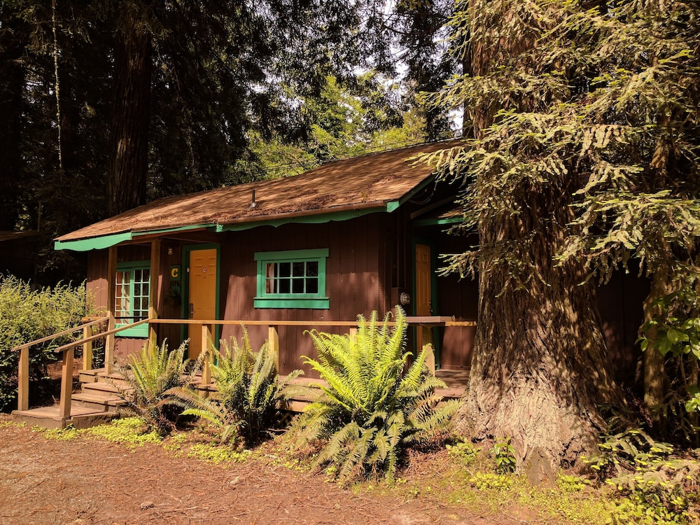 Front of Property, Emerald Forest Cabins