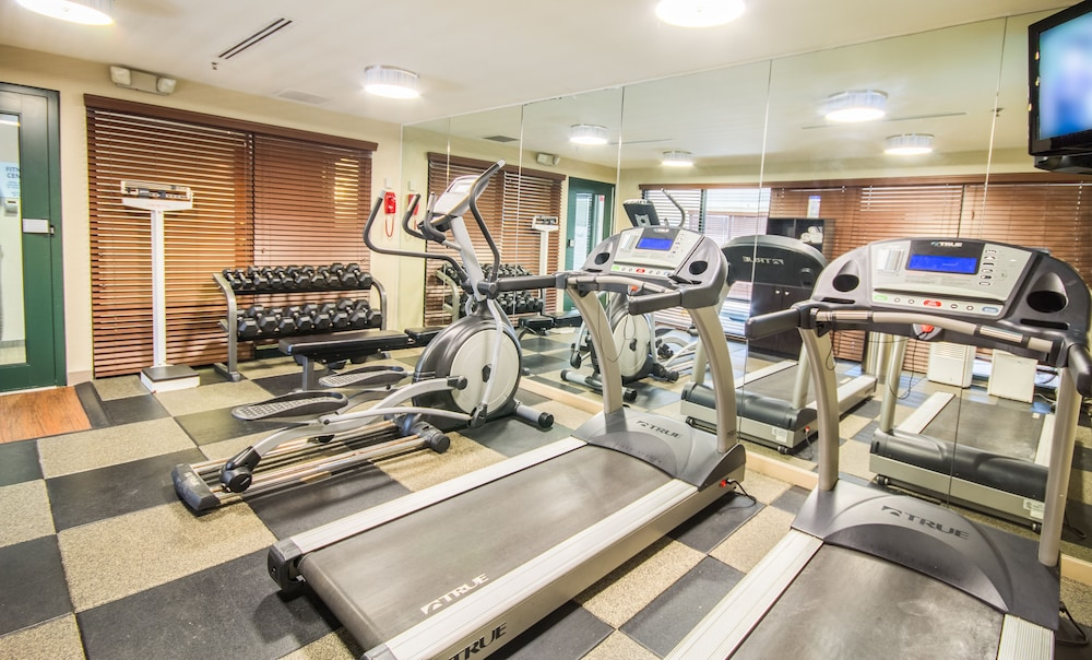 Fitness Facility, Holiday Inn Express Hotel & Suites Auburn, an IHG Hotel